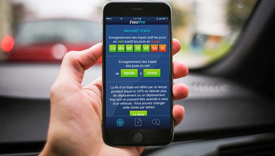 IPhone frais kilometrique